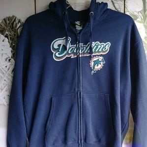 NFL Fleece Jacket Sz. Xl